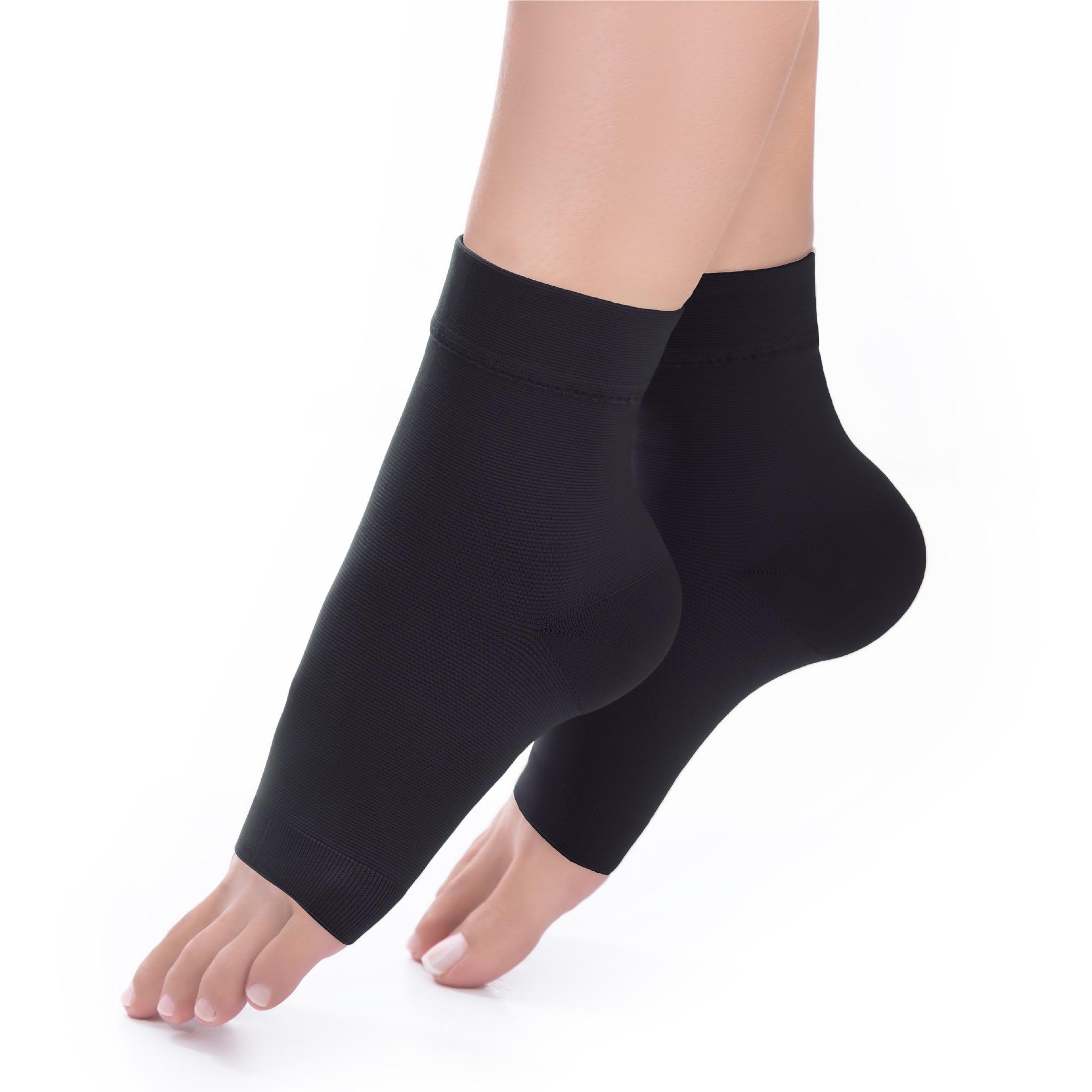 Ankle Sleeves ปลอกกระชับข้อเท้า รหัส IMAH01 สีดำ