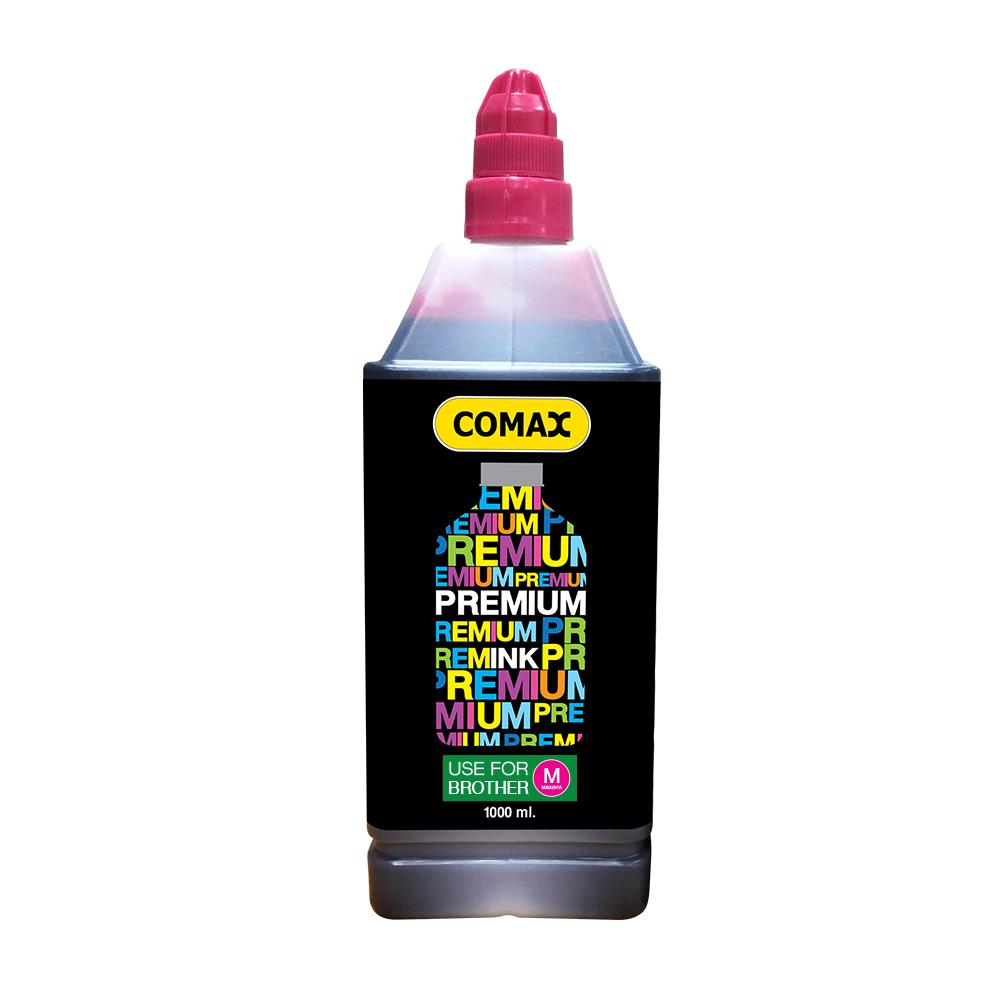 หมึกเติมสำหรับ BROTHER สีชมพู 1,000 ml. โคแมกซ์