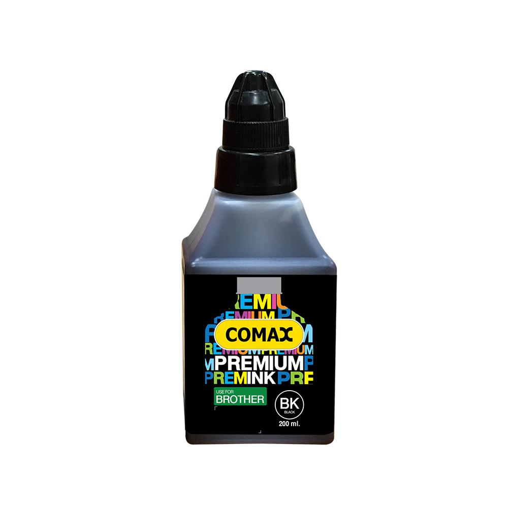 หมึกเติมสำหรับ BROTHER สีดำ 200 ml. โคแมกซ์