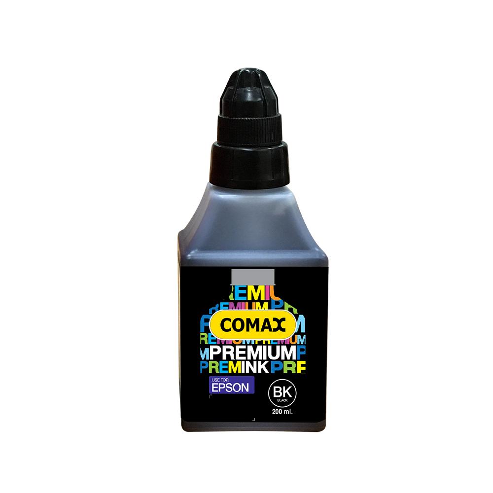 หมึกเติมสำหรับ EPSON สีดำ 200 ml. โคแมกซ์