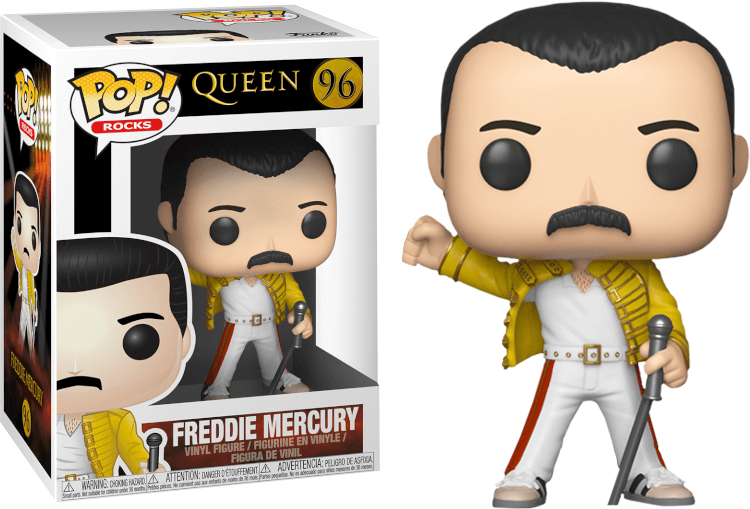 Freddie Mercury #96 Funko Pop! ROCKS : QUEEN
