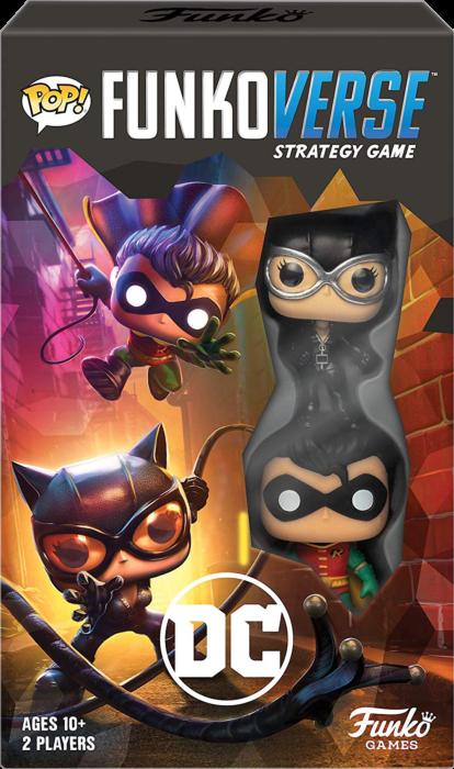 Pop! Funkoverse DC Robin Catwoman