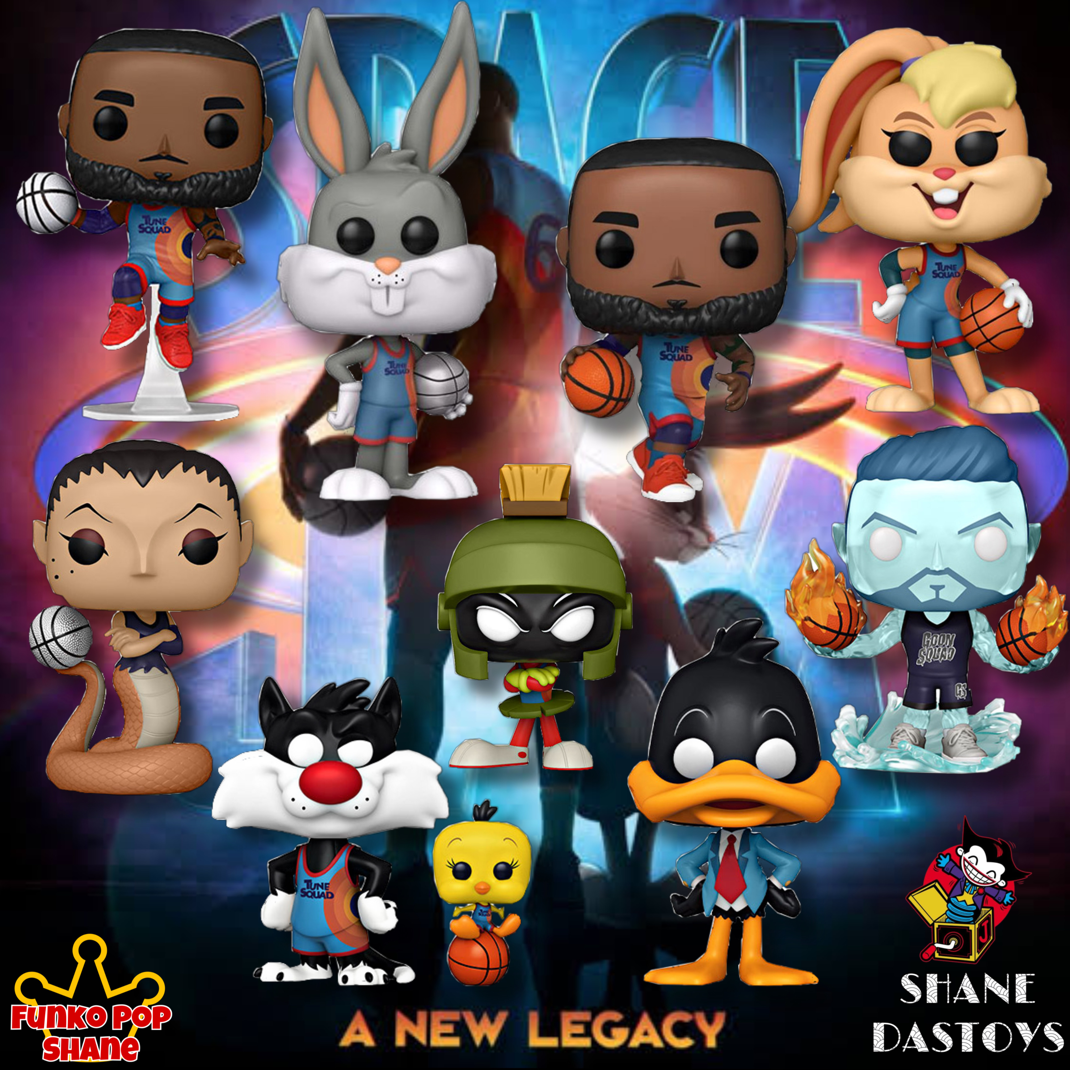 Funko Pop! MOVIES : Space Jam The New Legacy