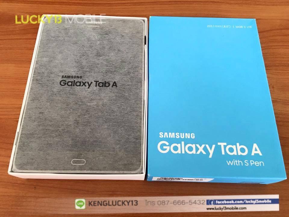 รับซื้อ SAMSUNG GALAXY TAB A 8.0 เครื่องศูนย์ไทย THL อุปกรณ์ครบยกกล่อง
