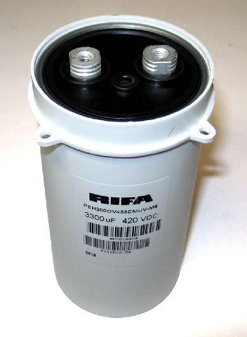 Capacitor 3300 MF 420VDC RIFA