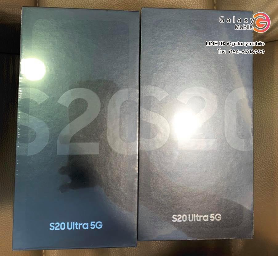 รีวิว สเปค พร้อมส่ง Samsung galaxy S20 /S20+ /S20 ultra 5G