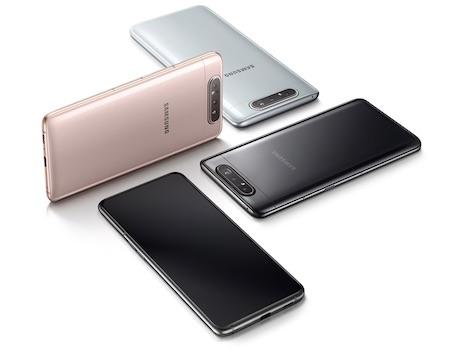 ราคา 13,xxxบ. Samsung Galaxy A80  Rom128GB Ram 8GB ประกันศูนย์ไทย