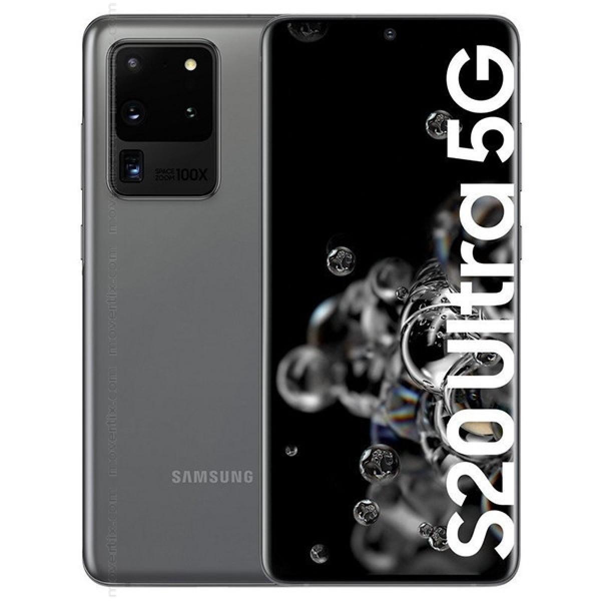 Samsung Galaxy S20 Ultra 5G (Gray) (เครื่องศูนย์ไทย ประกันศูนย์ไทย)