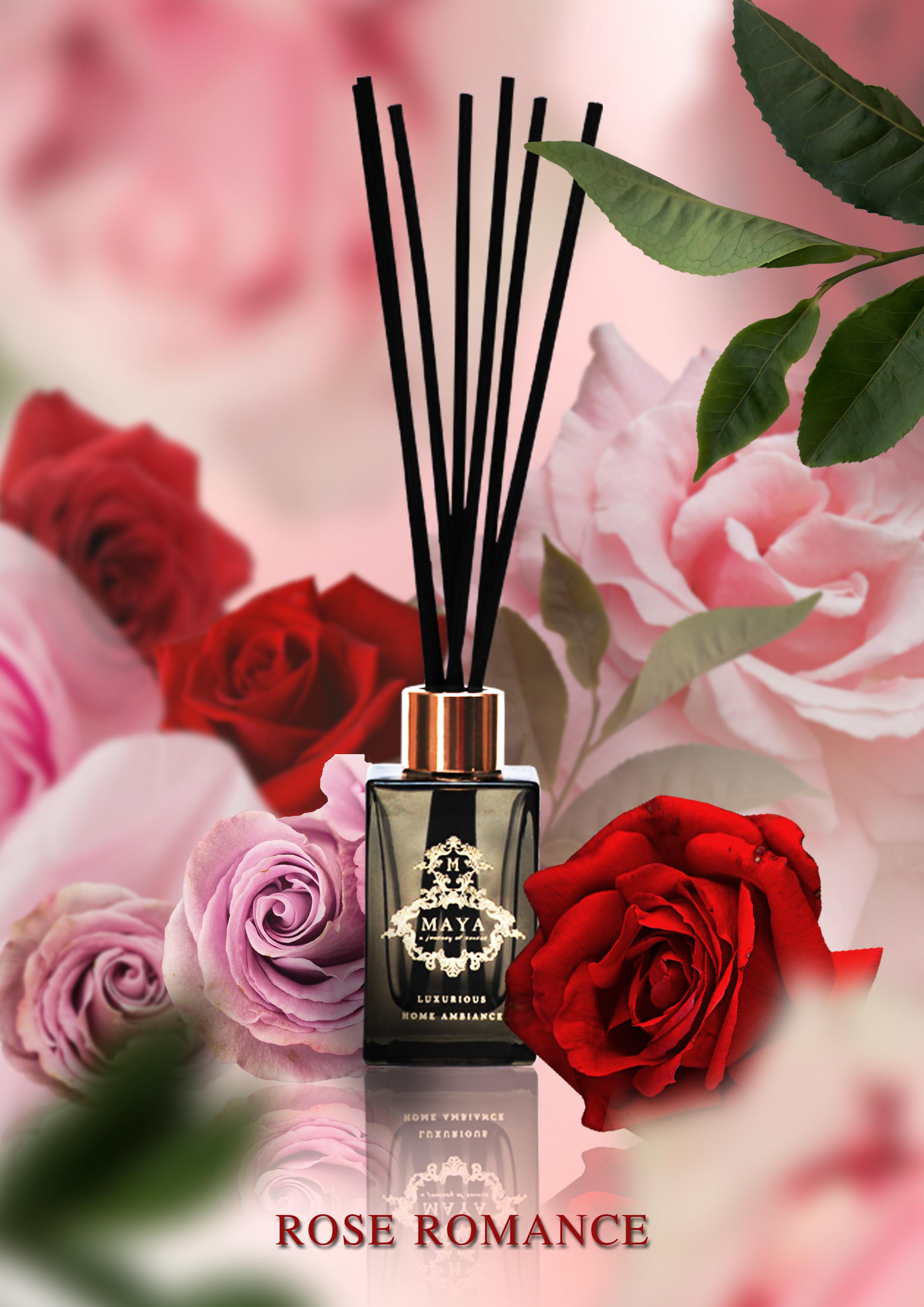 REED DIFFUSER ROSE ROMANCE กลิ่นหอมเอกลักษณ์จากดอกกุหลาบ