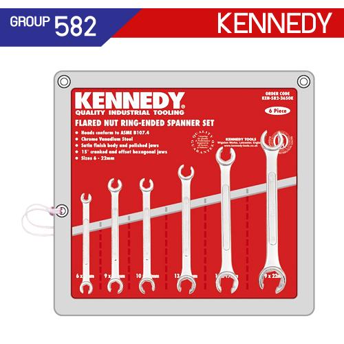 ชุดประแจแหวนผ่า (MM - AF) KEN-582-3650K , KEN-582-3659K