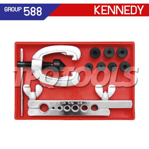 ชุดเครื่องมือบานท่อ 9 ชิ้น KEN-588-9550K