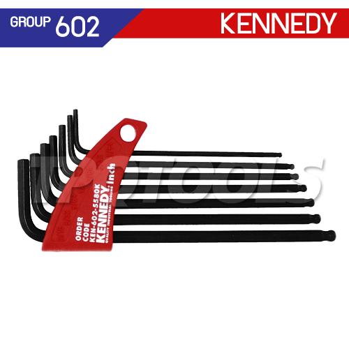 ชุดประแจหกเหลี่ยมหัวบอล KEN-602-5580K