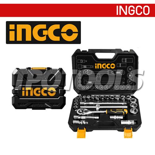 ชุดลูกบล็อค 25 ชิ้น SQ.DR.1/2 INGCO-HKTS12251