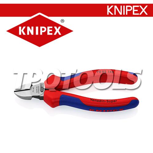 คีมตัดปากเฉียงด้ามจับTWOTONE KN7002140, KN7002160, KN7002180