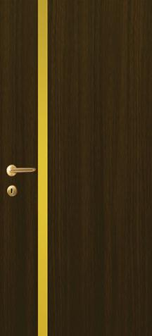 iDoor Metal Series : Walnut