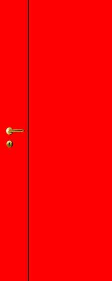 iDoor Line Series 1 : Ruby Red
