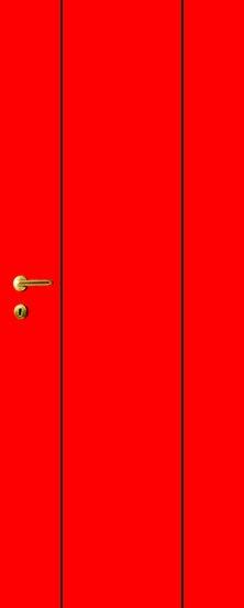 iDoor Line Series 3 : Ruby Red