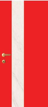 iDoor Marble Series : Ruby Red