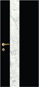 iDoor Marble Series : Jet Black