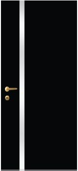 iDoor Metal Series : Jet Black