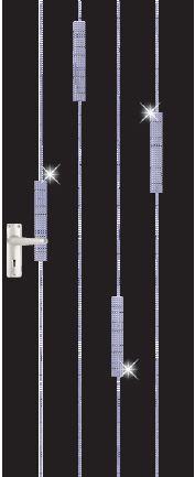 iDoor Crystal Series : Jet Black A