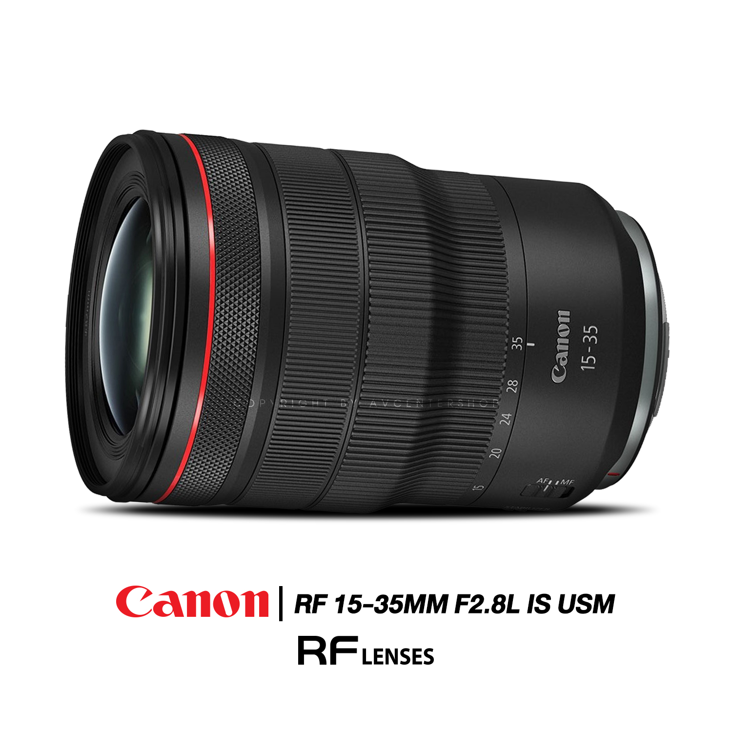 Canon Lens RF 15-35 mm. F2.8L IS USM