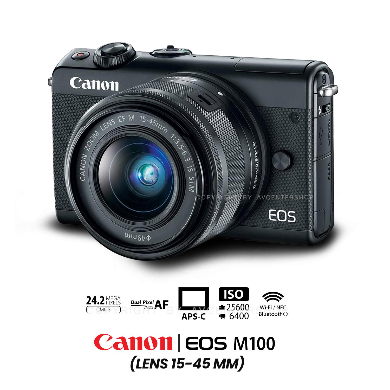 Canon EOS M100 kit 15-45 mm.