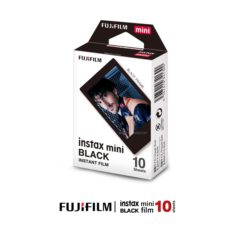 Fujifilm Instax mini Film BLACK FLAME