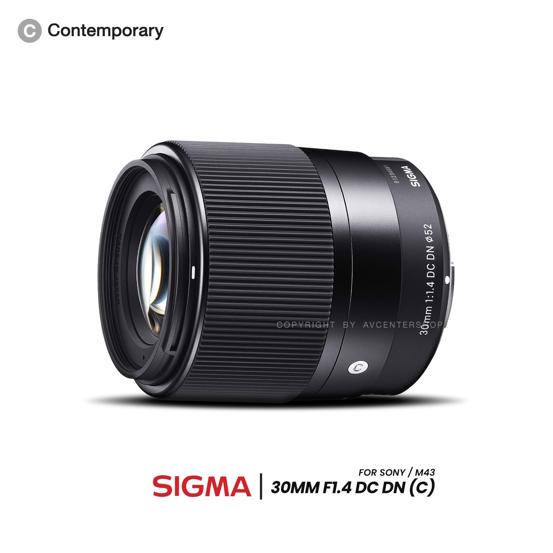 Sigma Lens 30 mm. F1.4 DC DN Contemporary