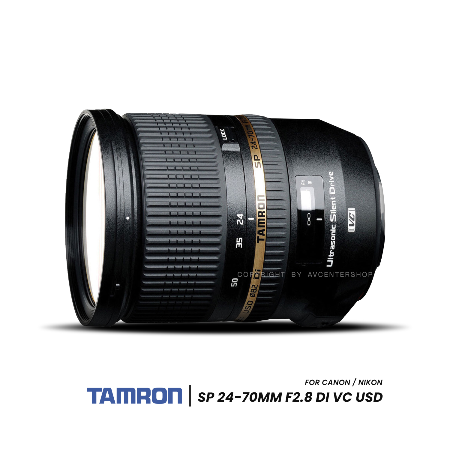 Tamron Lens SP 24-70mm f/2.8 VC