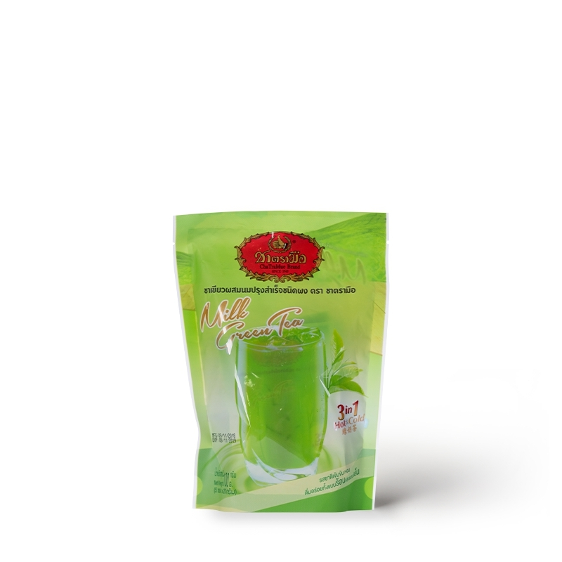 Instant Milk Green Tea Small Packed In Bag