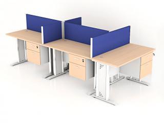 โต๊ะทำงานกลุ่ม 5 ที่นั่ง
