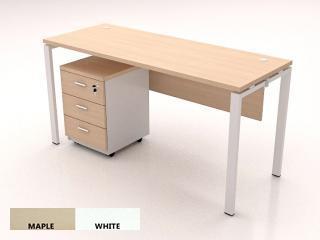 โต๊ะทำงานขาเหล็ก DS-MT