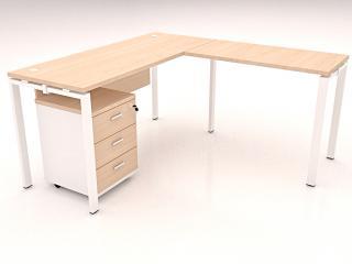 โต๊ะทำงานตัวแอล