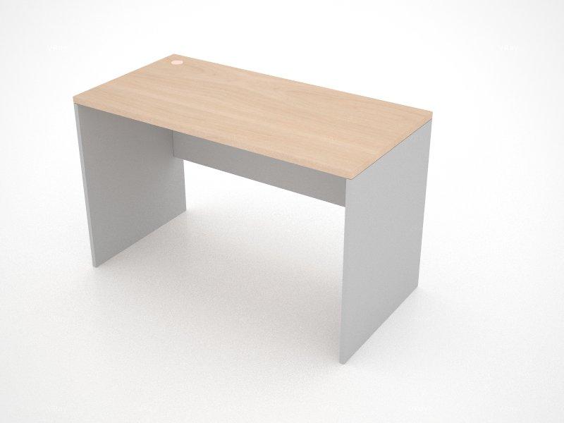 โต๊ะทำงานไม้ชนิดโล่ง