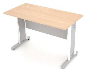 โต๊ะทำงานขาเหล็ก DS-MD