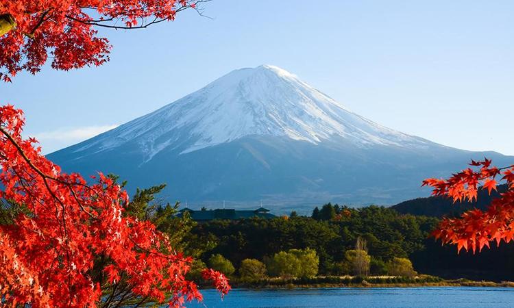 Image result for ภูเขาไฟฟูจิ