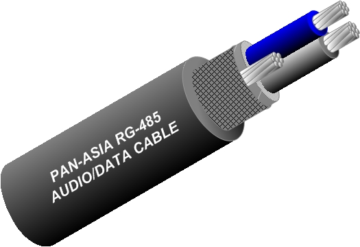 RS-485 Audio/Data Cable