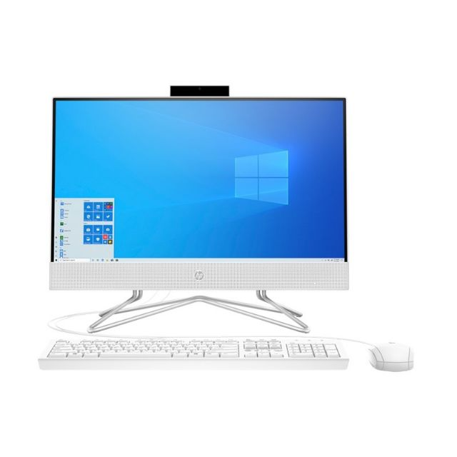 HP AIO 22-df0108d(9EH16AA)White:3Y On-Site