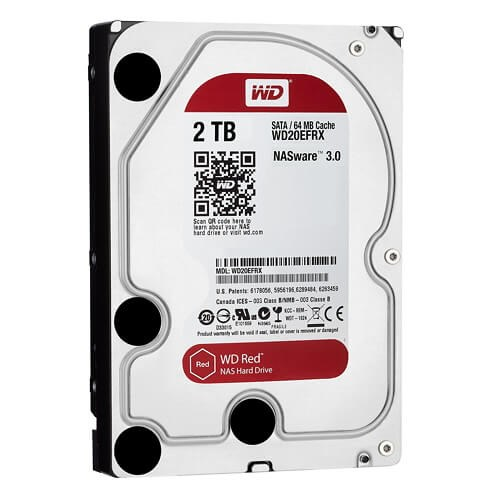 HDD 2TB SATA Red for NAS :WD20EFRX (Western)