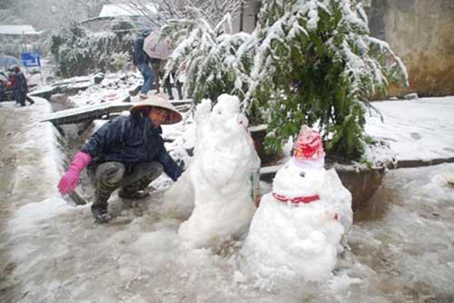 เวียดนาม หิมะตก แล้ว ทางตอนเหนือ ของประเทศ