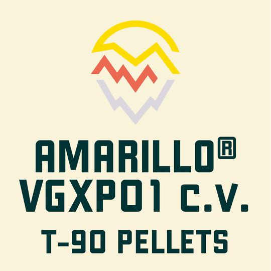 ฮอปทำเบียร์ Amarillo Hops 500 กรัม