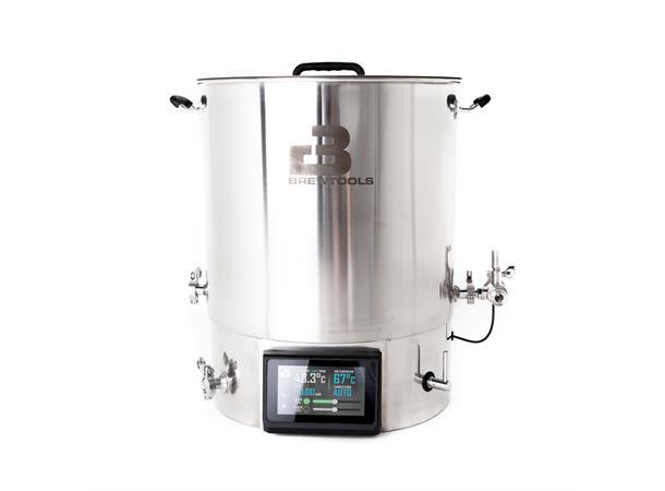 หม้อต้มเบียร์ไฟฟ้า B80pro Brewing System, EU + Starter Pack, 3-Valve Setup