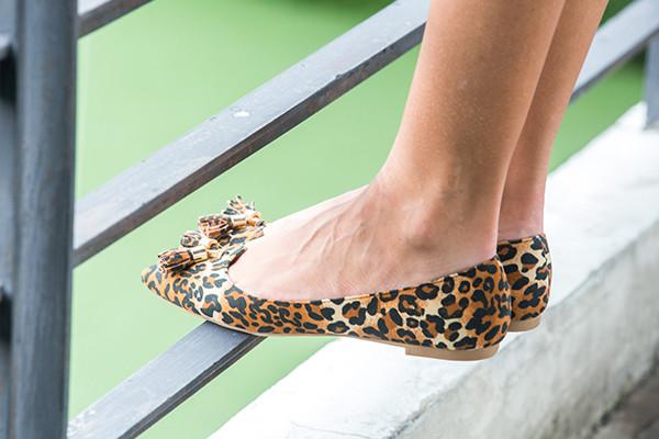 Willa Suede Ballets - Leopard