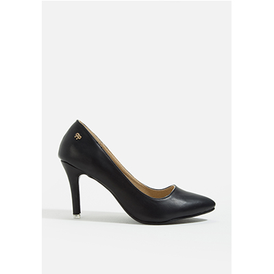 Mac & Gill Hazel Pointy-Toe Pumps BLACK