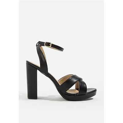 รองเท้าแฟชั่นผู้หญิงส้นสูง DAISIE ANKLE STRAP