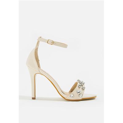 Mac & Gill Carrson High Heel Sandal- NUDE