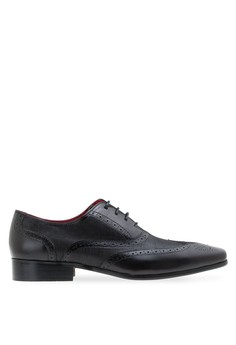 Leather Perforated Lace Up Men shoes MAC and GILL Leather Shoes