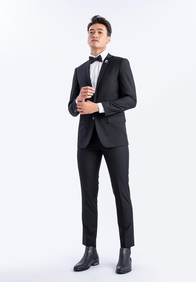 เซ็ตสูทและกางเกงทรงเขารูป Royal Classic BLACK Mac & Gill ดำ