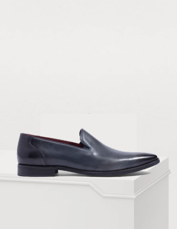 VENEZIA CLASSIC LEATHER LOAFERS SHOES GOODYEAR WELTED SHOES